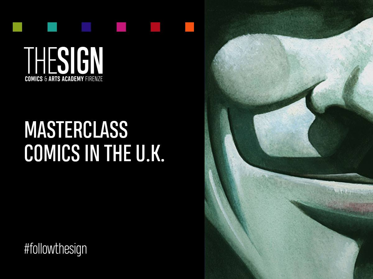 Comics in the U.K. – Masterclass a cura di Massimo Rosi e Vincenzo Federici