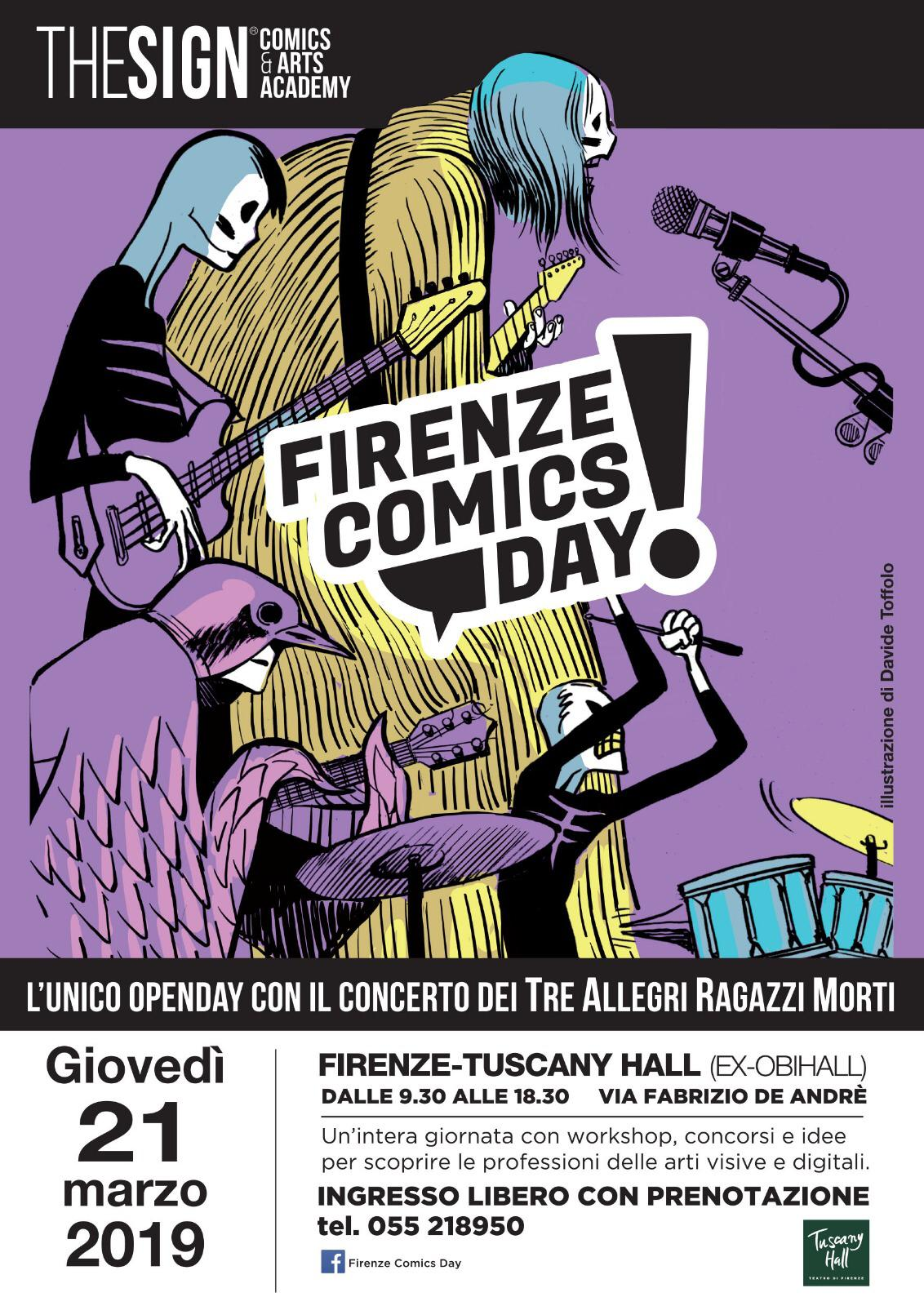 Firenze Comics Day 2019