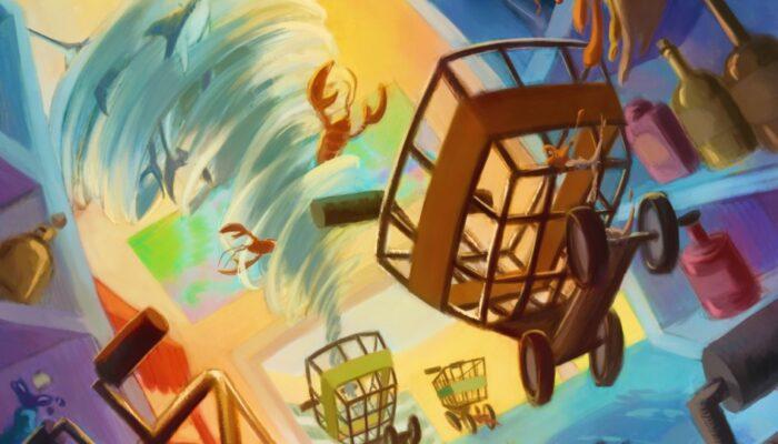 Shopping Cart Rush, progetto del Team Clumsy di Games