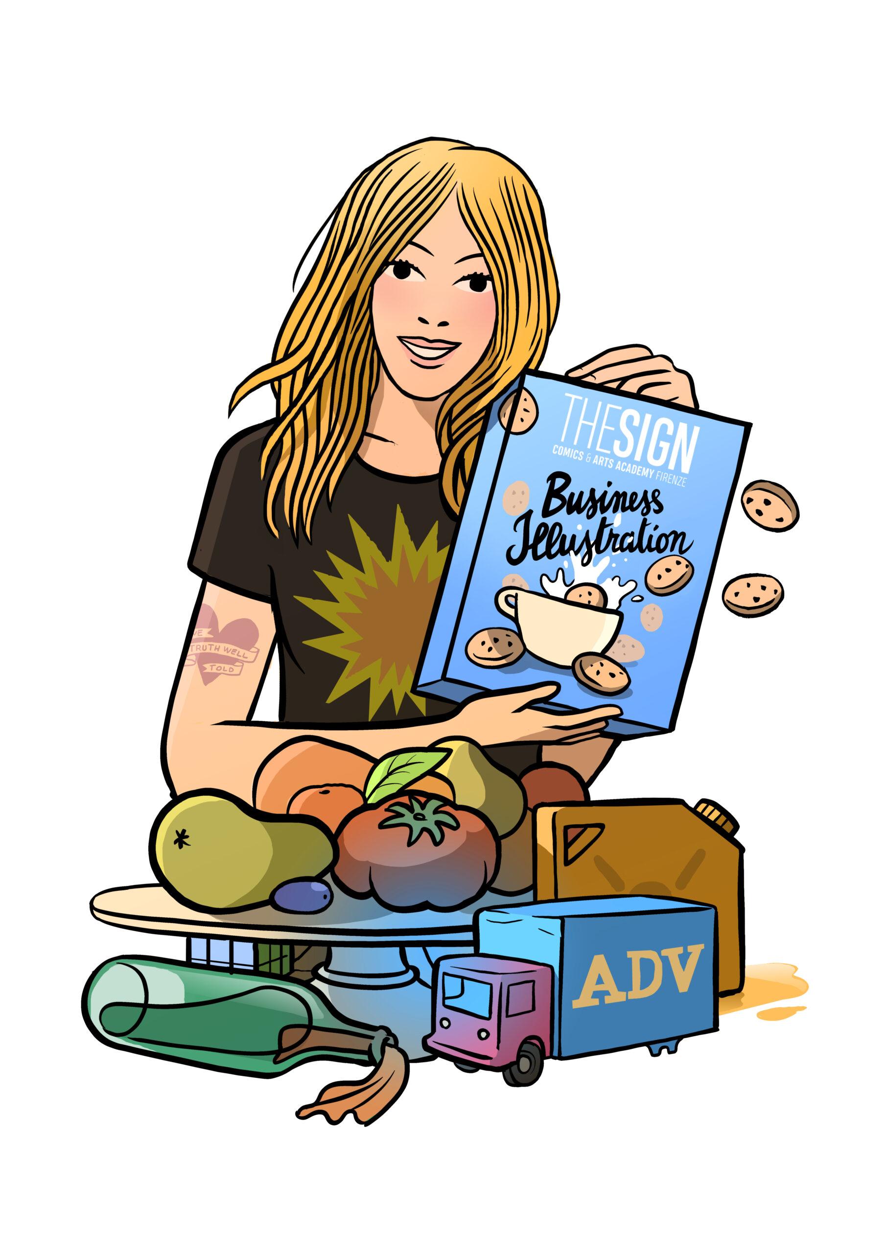 Business Illustration: nuovo corso online!